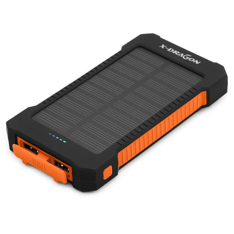 Solar Charger Battery 10000mAh Portable Solar Power Bank