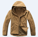 Military Tactical Jacket Waterproof Windproof