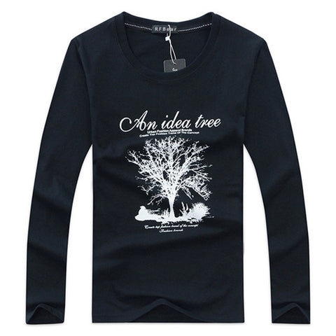 New Autumn and winter cotton men's t-shirt