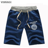 Male Cotton Casual Knee Length Shorts