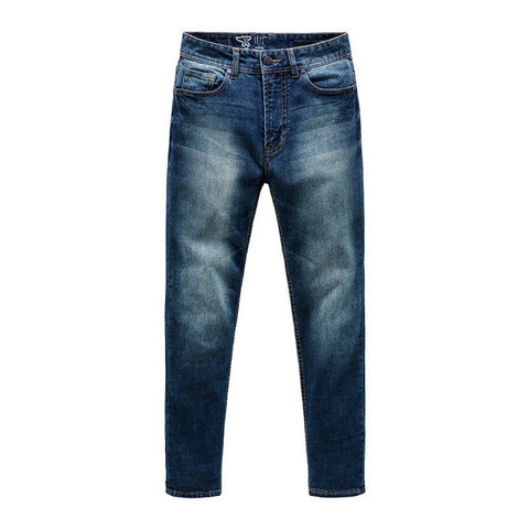 Italian Style Fashion Full Length Solid Skinny Jeans