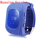 Smart Phone  Anti Lost GPS Tracker Watch For Kids