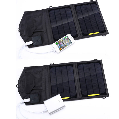 Foldable 8W Solar Panel Charger