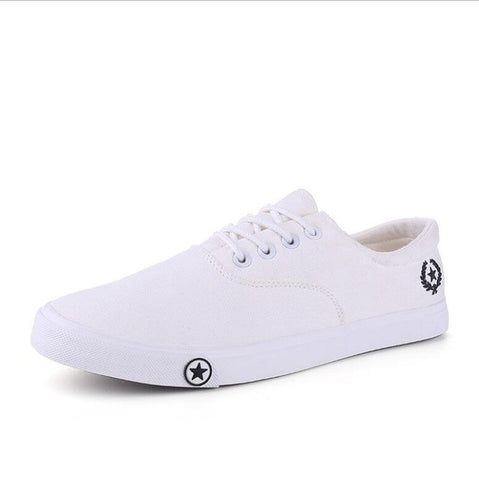 Casual Breathable Flat Sole Canvas Shoes