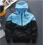 Jacket Hip Hop Waterproof Windbreaker Men Coat
