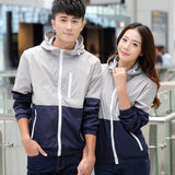 Men Hooded Casual Jackets