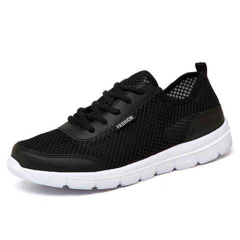 Men Shoes Summer Breathable Lace up Casual Shoes Big Size 35-48