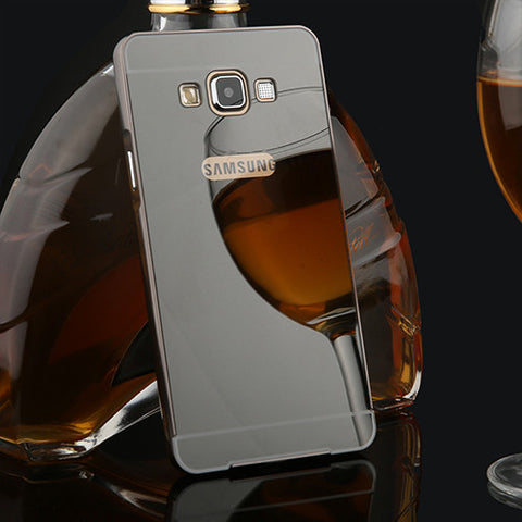 2 in 1 Mirror Case For Samsung galaxy