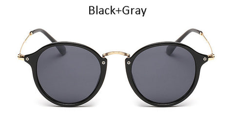 New Women Classic Oval Sunglasses Men Retro Luxury Brand Designer Superstar Mirror Sun Glasses UV400