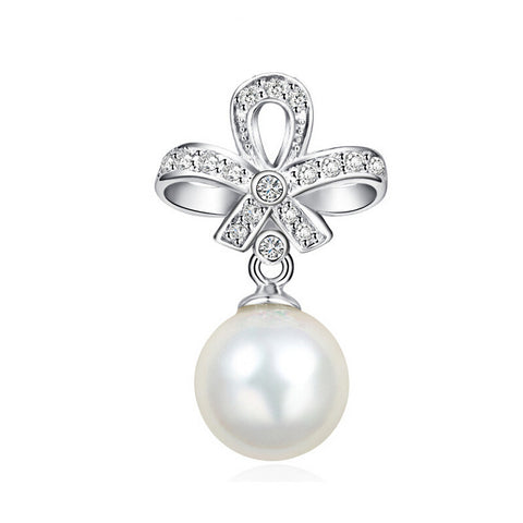 925 Sterling Silver Pendant with Shell Pearl