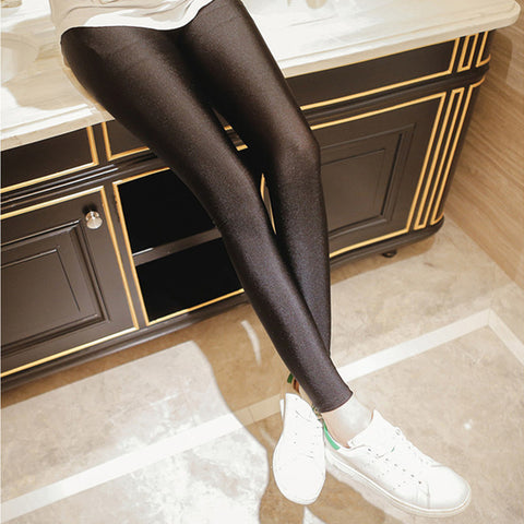 Soft breathable luster pants leggings