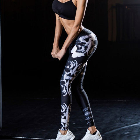 Women Sexy Print Leggings