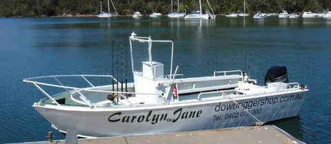 The Downrigger Shop's ship, the Carolyn Jane