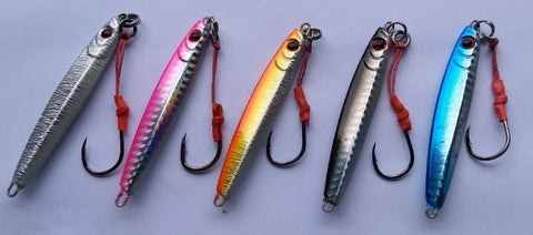 Downrigger Shop 40 gram knife jigs colour options
