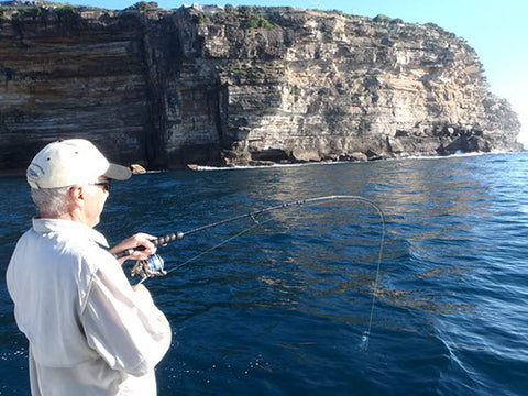 Andy using the Snapper Combo at Bonito Alley