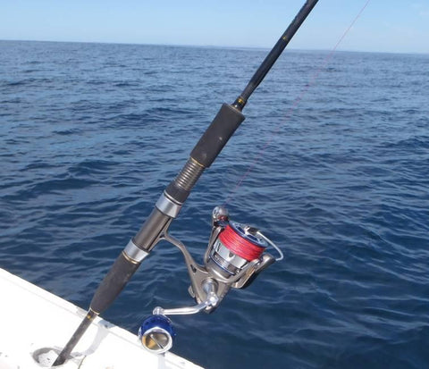 Ryobi 4000 on a Bay Jig rod is a great setup
