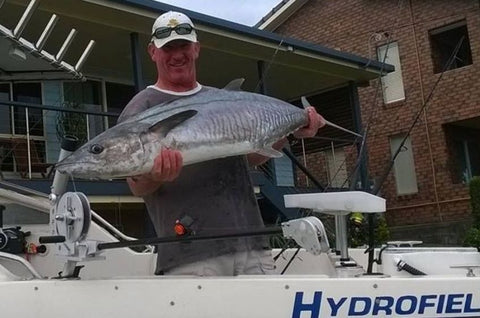 Big mackerel caught in Australia