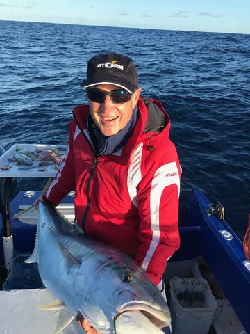 Bruce went out with Greenwood Charters catching giant Kingfish
