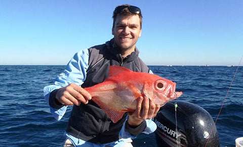 Tanacom 1000 let you catch deep sea fish you couldn't otherwise get to