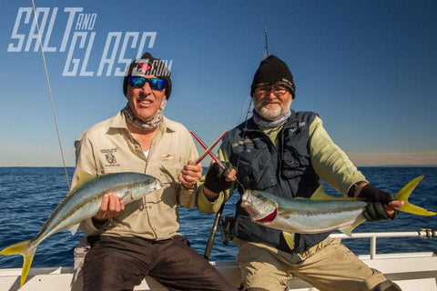 Legal kingfish landed