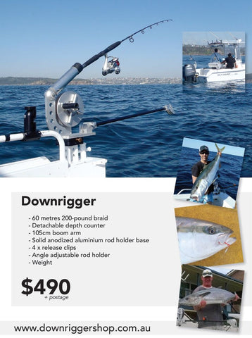 Downriggershop downrigger package poster