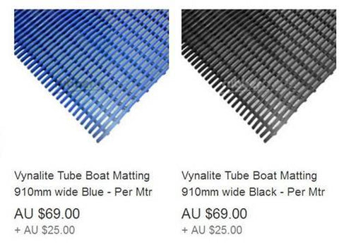 Expensive tube matting found on ebay
