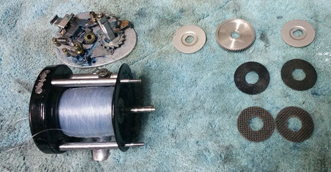 Reinstalling the Carbontex washers in an old reel