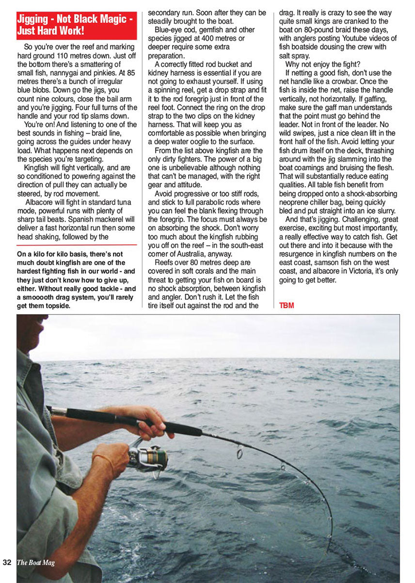 Andy on how to jig reefs for pelagic fish species