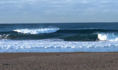 Narrabeen Beach surf is a good indication of when and when not to fish offshore