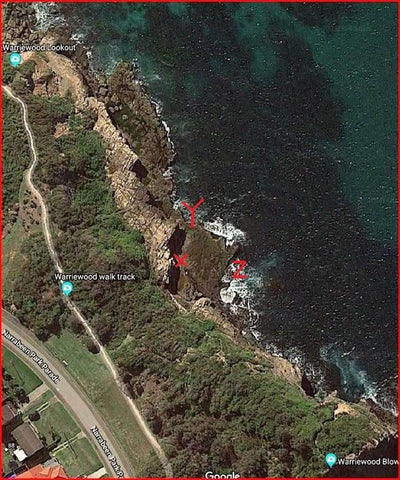 Turrimetta Head is a great fishing spot on Sydney's Northern Beaches