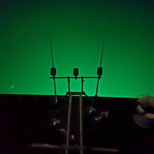 Luring Squid with the Downrigger Shop underwater squid light