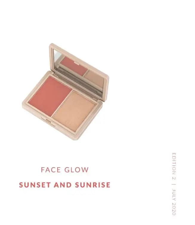 Sunset and Sunrise - Face Glow