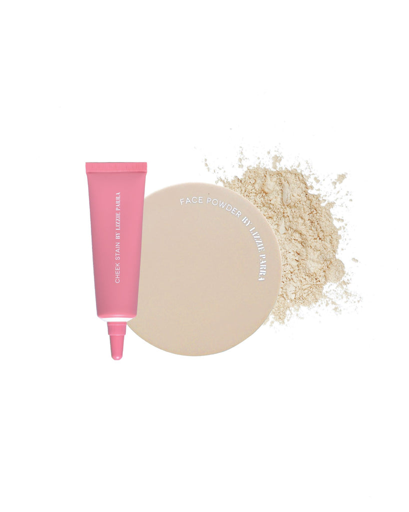 FACE POWDER 30GR - BEIGE x CHEEK STAIN
