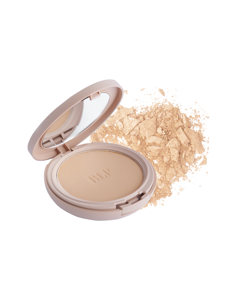 Compact Powder Light Beige BLP Beauty