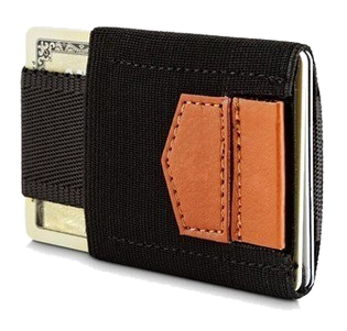This unisex compact nylon wallet provides easy access to all cards, has a pocket for cash, has strong wear resistance, is ultra- compact & easy to use.