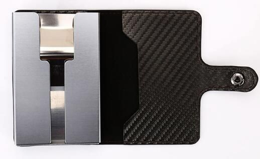 inside of slim king aluminium/pu card holder