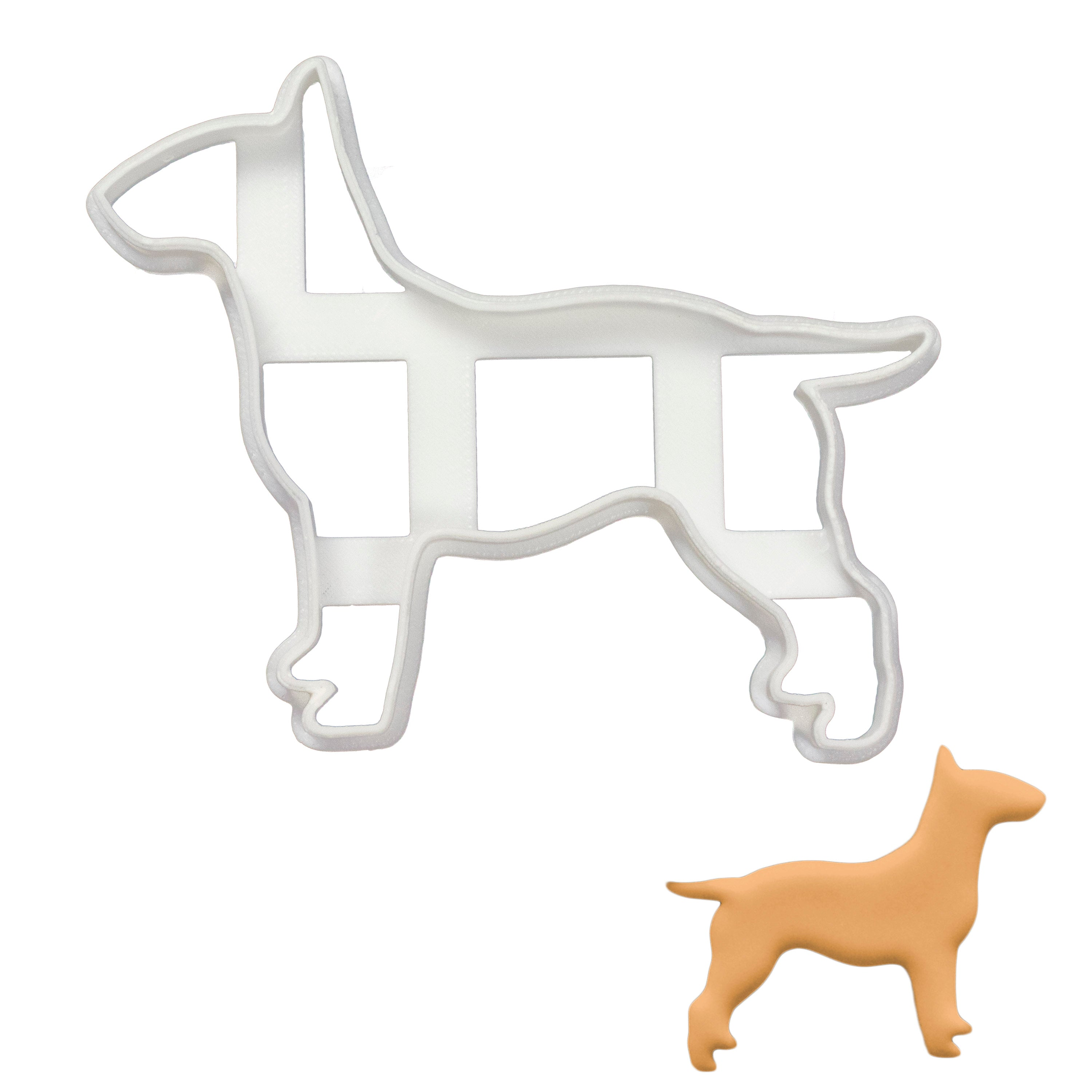English Bull Terrier Silhouette cookie cutter
