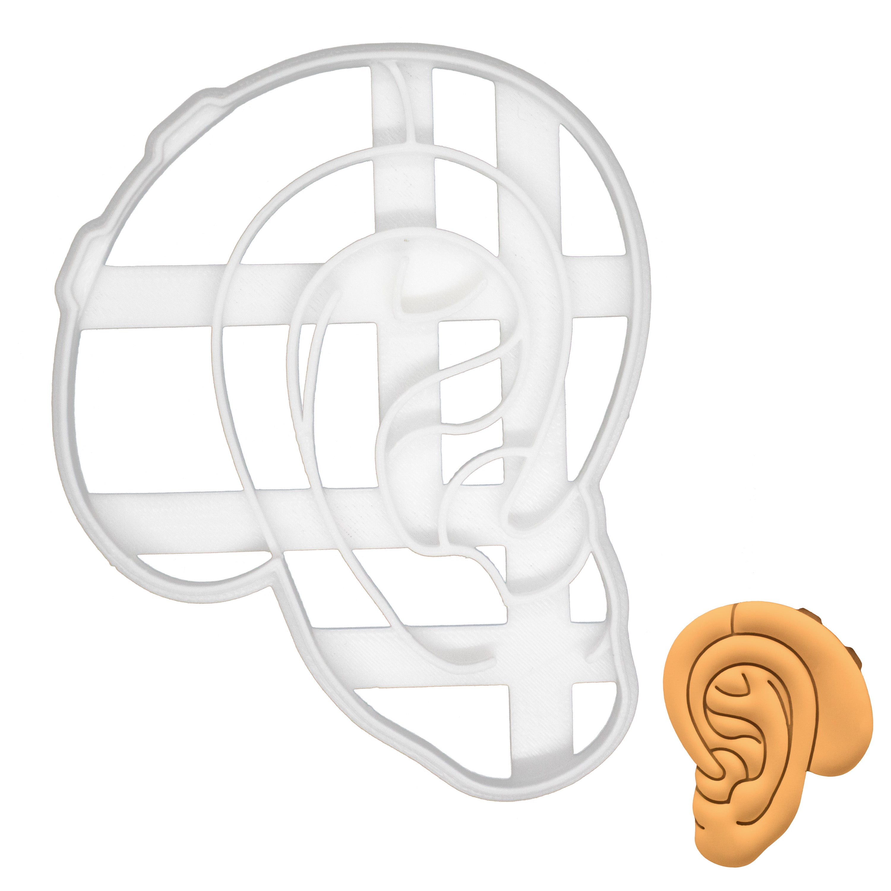 hearing aid cookie cutter
