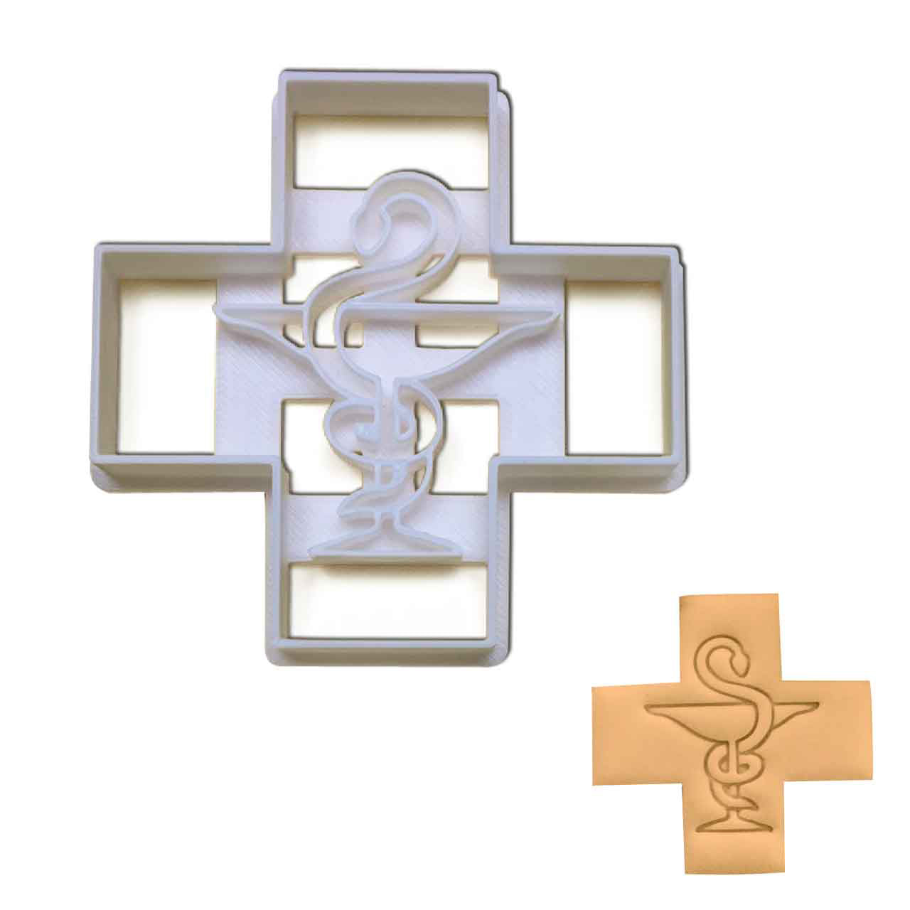 Pharmacy Logo Cookie Cutter