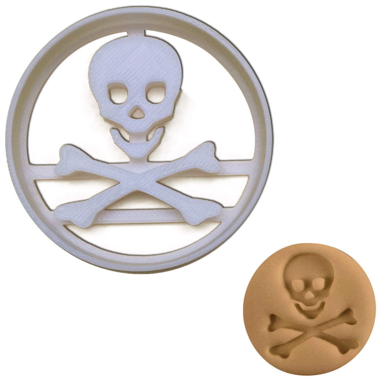 toxic symbol cookie cutter
