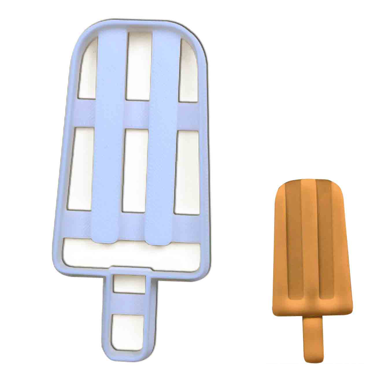 Ice Popsicle Cookie Cutter