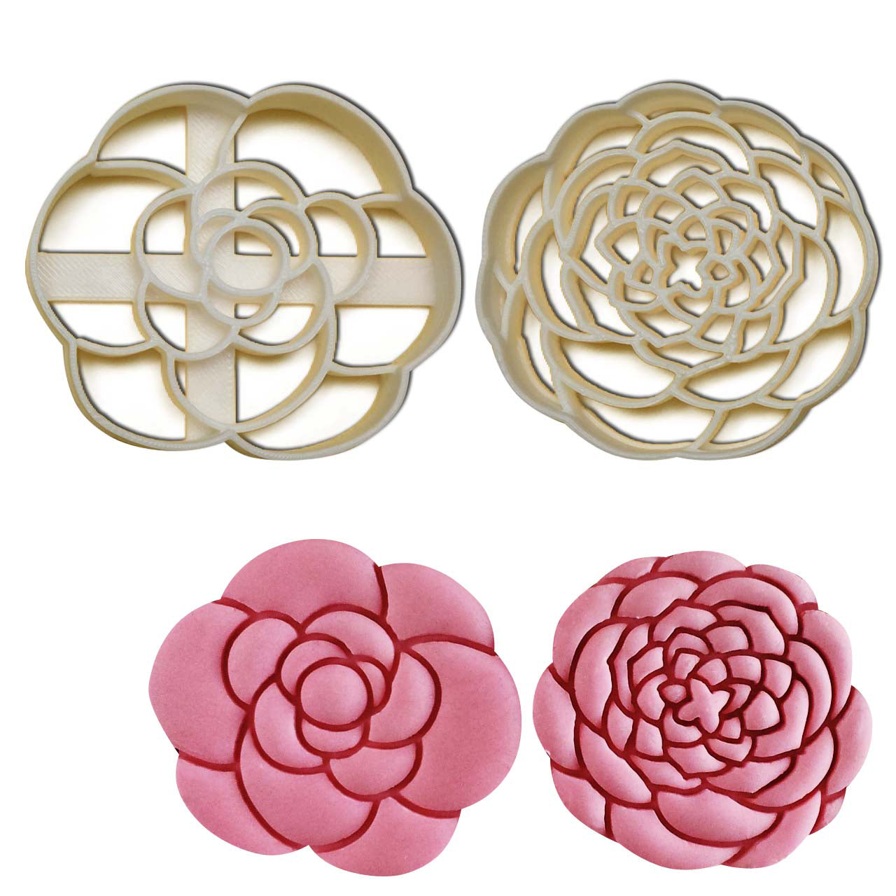 camellia flower cookie cutters