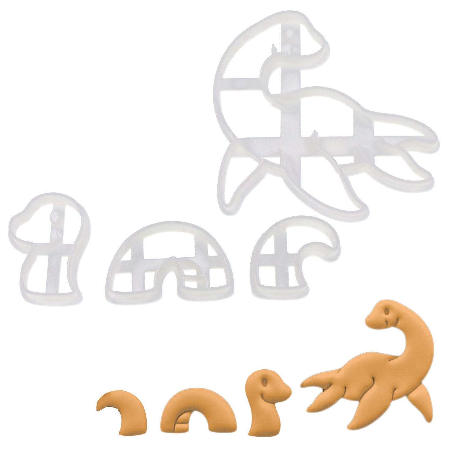 Set of 2 Loch Ness Cookie Cutters