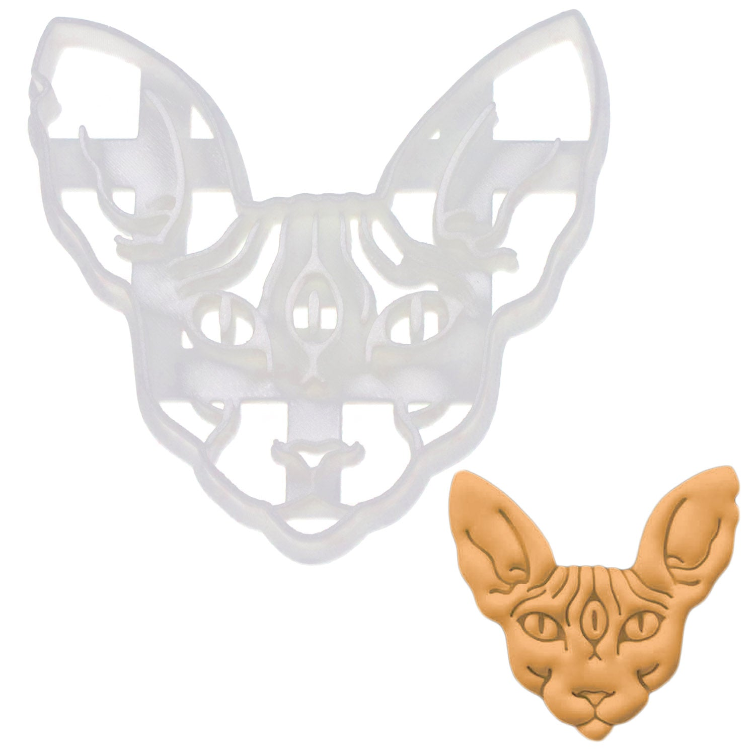Sphynx Cat with 3rd Eye Cookie Cutter