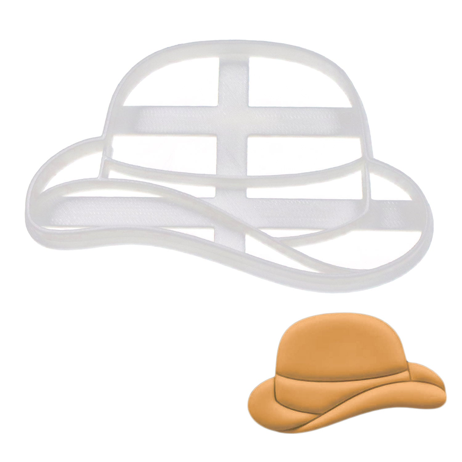 bowler cookie cutter