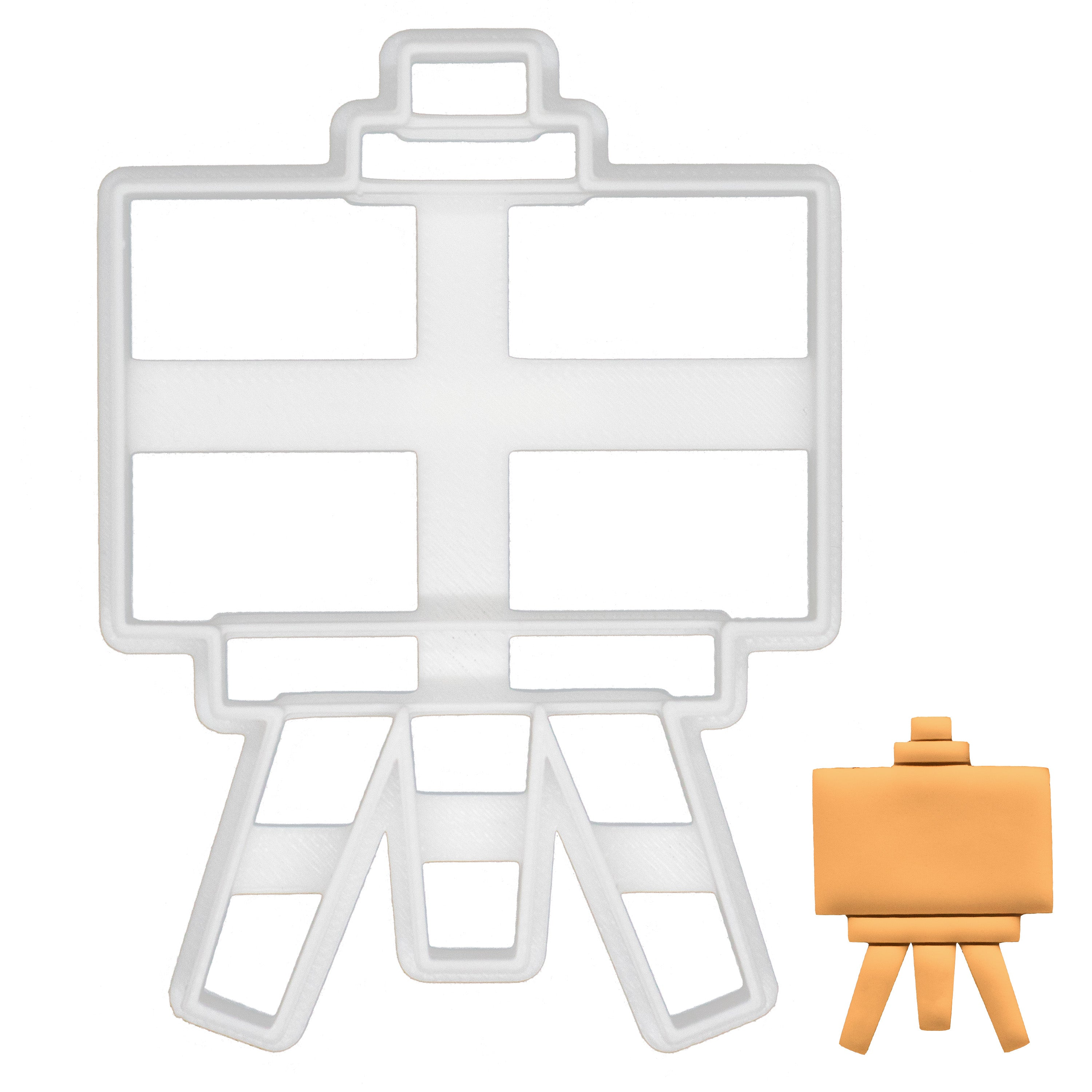 easel stand cookie cutter