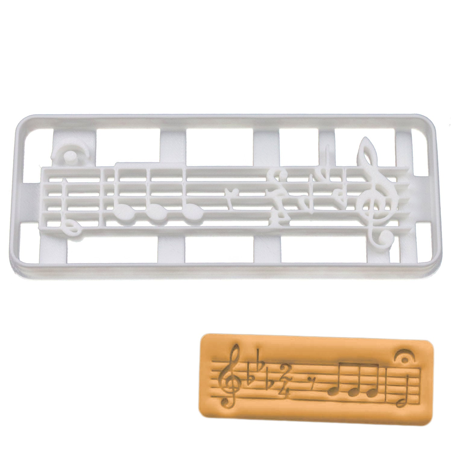Beethoven 5th Symphony Cookie Cutter