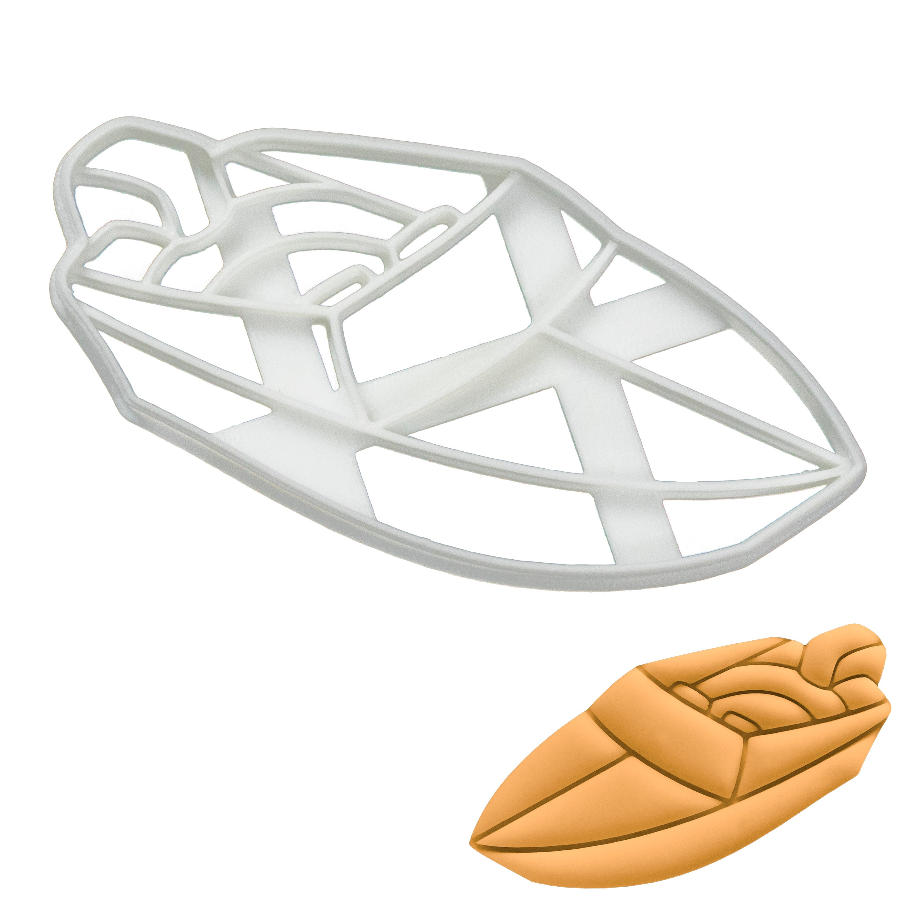 Power Boat Cookie Cutter