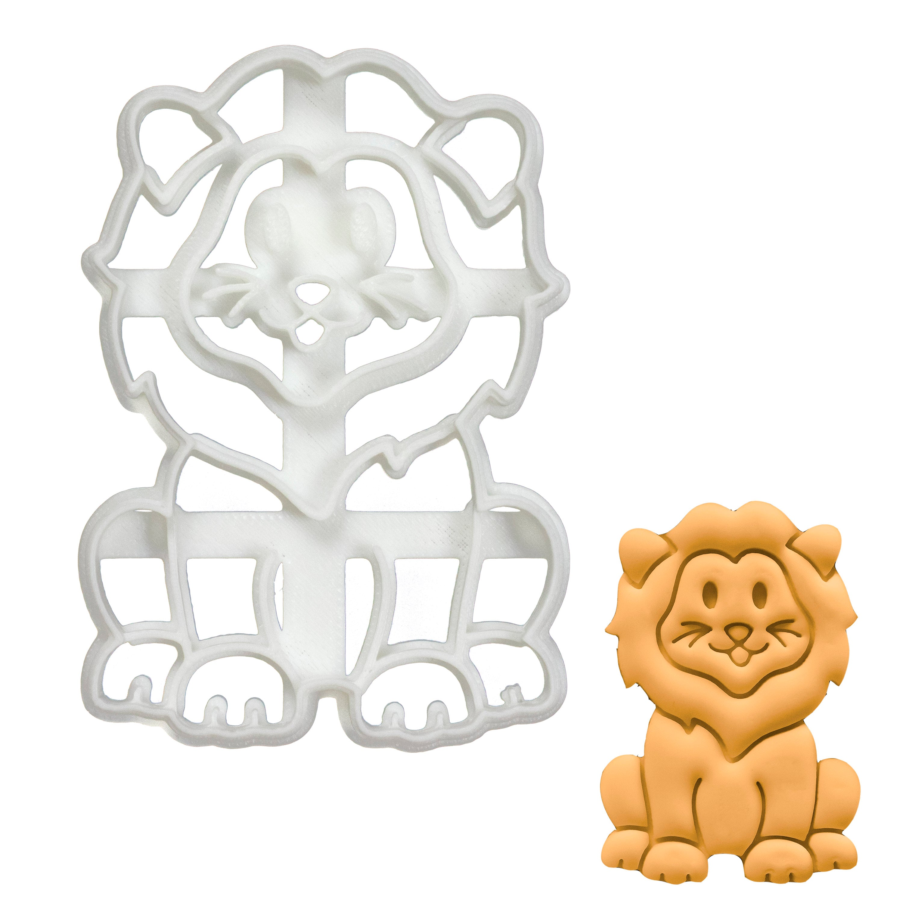 Baby Lion Cookie Cutter
