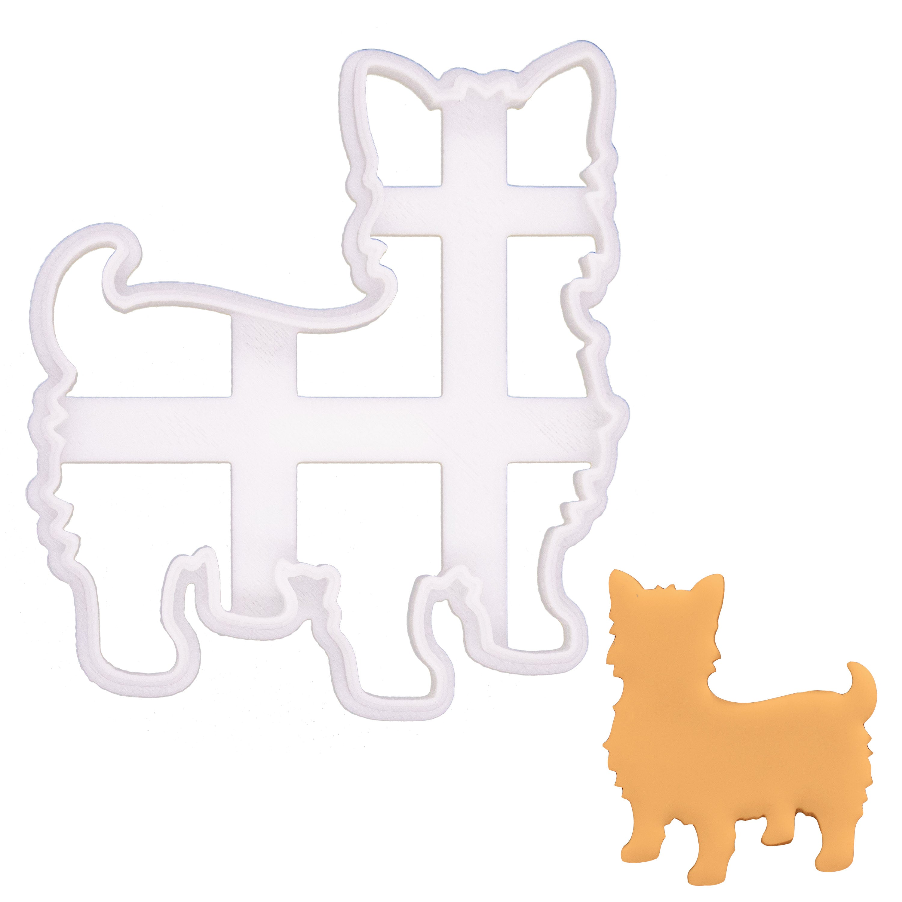 Yorkie Outline Cookie Cutter